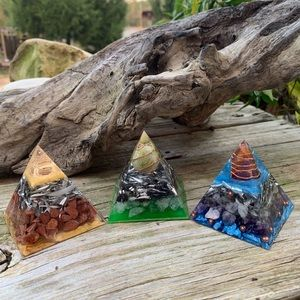 Orgonite Pyramid Bundle